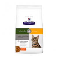 Hills Prescription Diet METABOLIC + URINARY gato