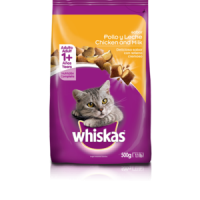 WHISKAS ADULTO POLLO Y LECHE
